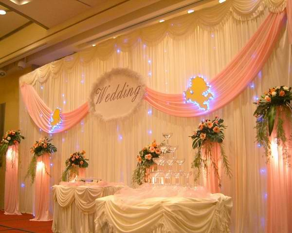 Wedding Stage Curtain 10ft 20ft Party Stage Decorations
