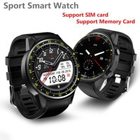 Sport Smart Watch F1 MTK2503 Dual Support SIM TF Card GPS Camera Bluetooth Wristwatch Support Stopwatch for Android IOS Phone