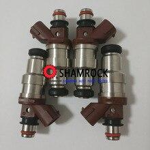 Original Fuel Injector nozzle OEM 23250-75050/ 23209-79095/23209-39015 fits For 1995-2000 Ttoyota 4Runner Tacoma T100 2.7L  4PCS auto spare parts fuel injector nozzle for hilux hiace oem 23250 75100 23209 75100