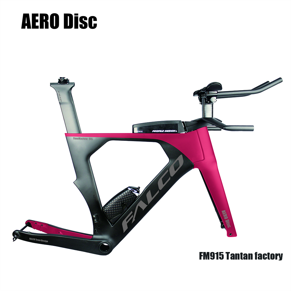 Tantan Factory OEM FALCO Bike 2019 AERO Carbon Triathlon Bike  Carbon Tt Frame Tapper Tube Carbon Time Trial Bicycle Frame