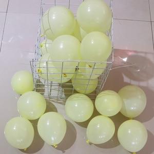 Image 5 - 100 개/몫 5 inch macarons 컬러 더블 레이어 라텍스 라운드 풍선 풍선 생일 파티 장식/웨딩/engage