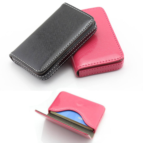 18pcs card smart pu leather business card holder square shape card 18pcs card smart pu leather business card holder square shape card box creditbusiness card case gifts in card id holders from luggage bags on colourmoves