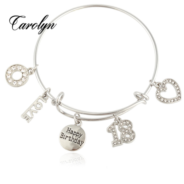 Mi Avenue Latest Trendy Diy Charm Bracelet Bangle With Expandable