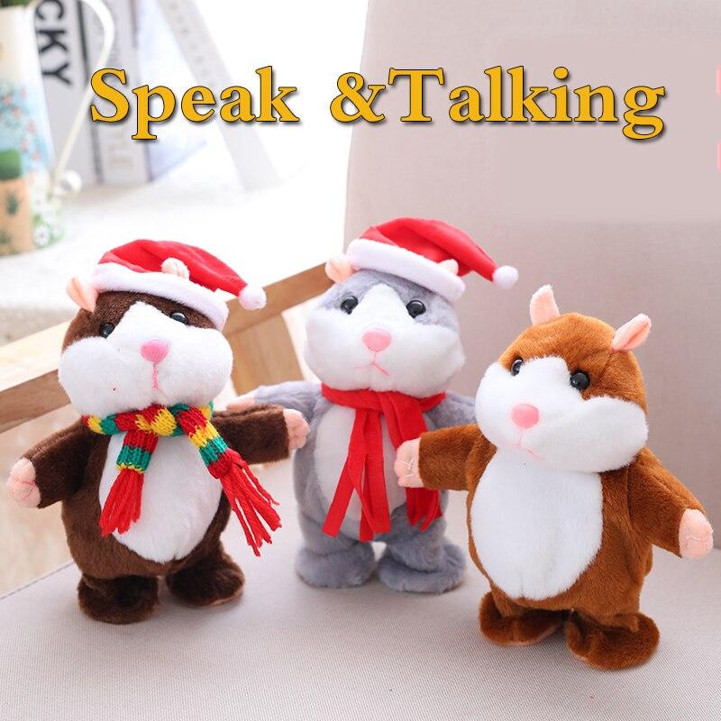Stuffed e Plush Animais hamster som presentes de natal Tema : Personagem de Cinema e tv