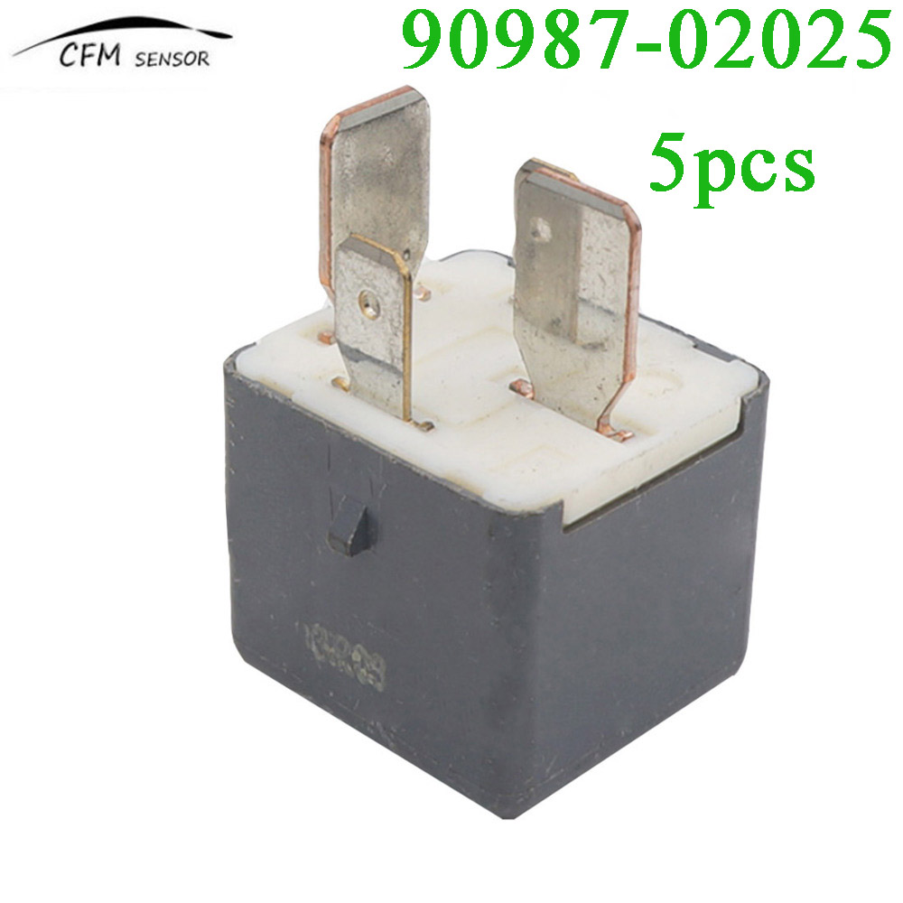 5pcs New Brand 90987-02025 Auto Replace Relay For Toyota Landcruiser Lexus IS350 IS250 IS220 GS300 GS430 RX300 RX400 ...