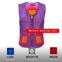 Best Gift To Mother Camping Vest Usb Heated Vest Bettery For Women Winter Thick Vest Cotton