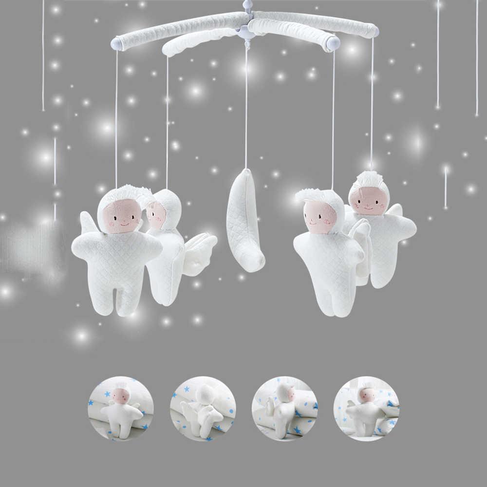 Мобильное крепление для детской кроватки детские игрушки-погремушки кронштейн DIY кровать колокольчик висячий медведь игрушка с музыкальной коробкой детские игрушки 0-12 месяцев игрушка для коляски