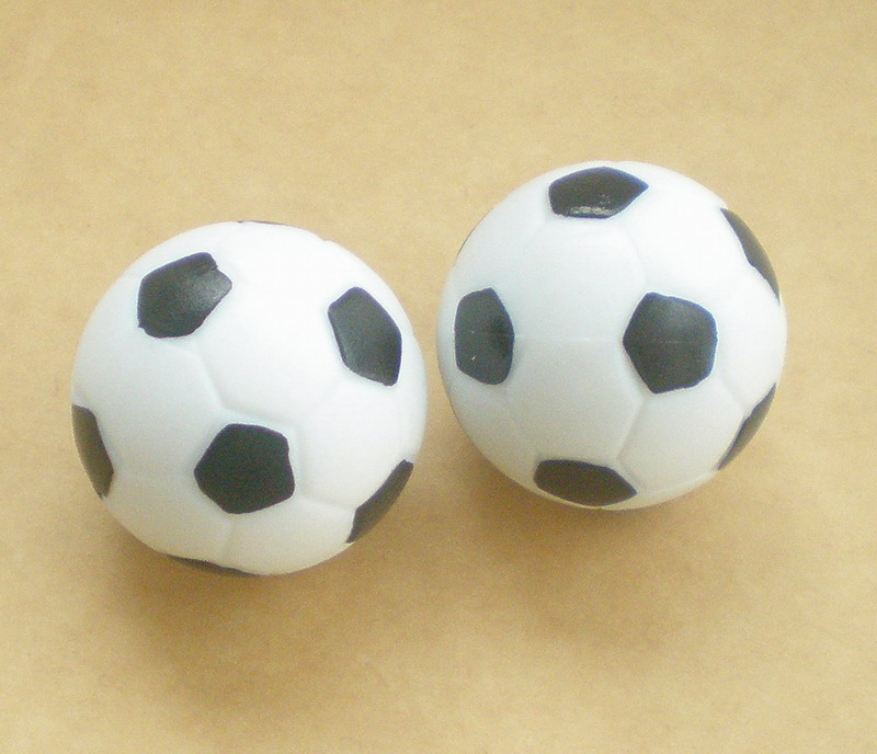 Free shipping 10pcs/lot NEW 36mm BLACK&WHITE Foosball table soccer table ball football balls baby foot fussball 06 цены