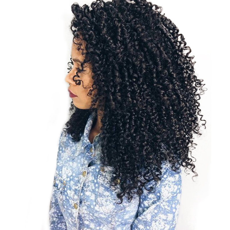 3B 3C курчавые переплетения Пряди человеческих волос для наращивания Одна деталь перуанской человеческих волос пучков предложения Инструме...
