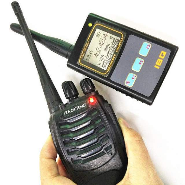 US $38 64 |Baofeng Digital Frequency Tester IBQ 102 Portable Meter Counter  10Hz 2 6GHz with Antenna for Ham Radio Mini Frequency Meter-in Walkie