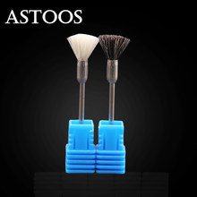 Nail Drill Bits Brush Machine for Manicure Cutters For Manicure Nozzle for Manicure Apparatus Milling Cutter for Nails Tool(China)