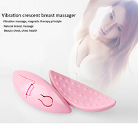 Breast Piece Portable Magnetic Effect Crescent Personal Design To Improve Sagging Chest Massage Breast Device