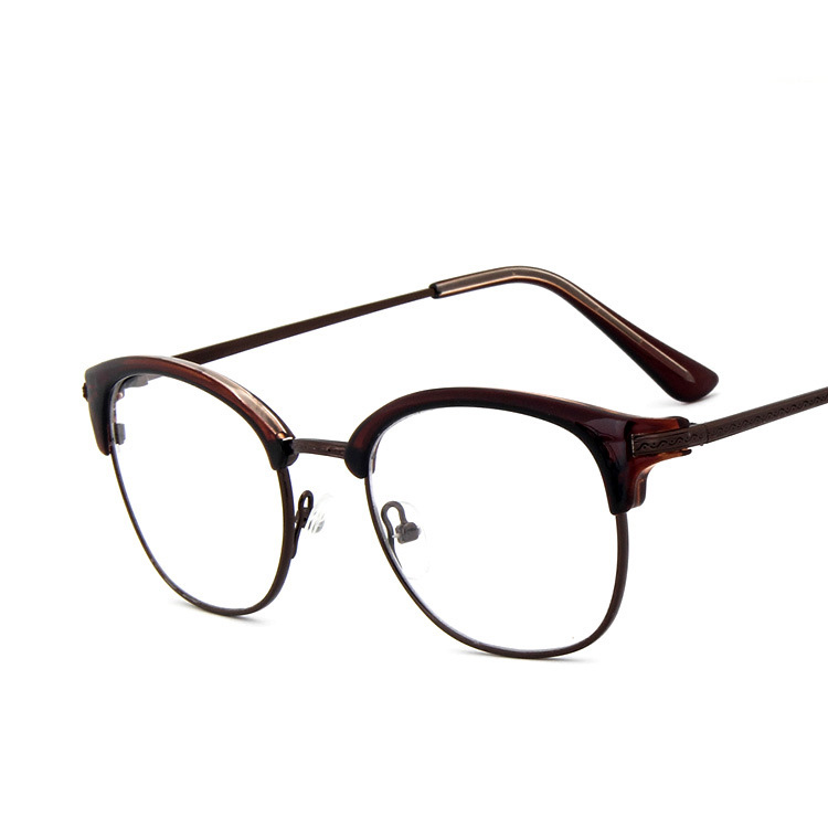 Horn Rim Nerdy Vintage/Retro Acetate Full Rim Optical Prescription EYEGLASSES FRAMES Men Women Myopia Glasses 9616 RX Spectacle