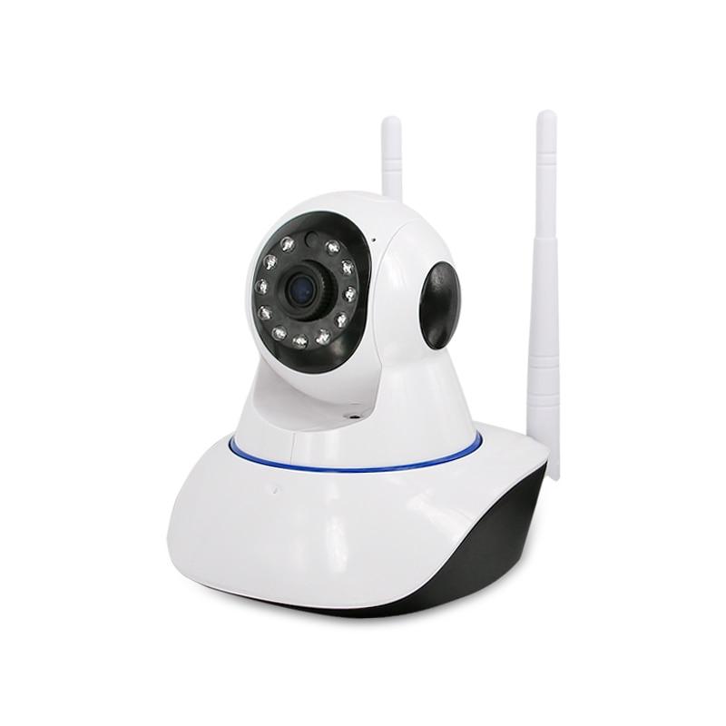Dual antenna Wireless camera,1.0MP IP Camera Security Surveillance IR Night Vision Baby Monitors,sn:X2-PH36