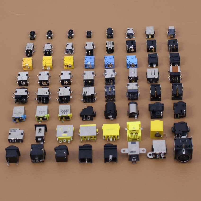DC power jack 64 models good quality use for tablet/pc/MID power interface and so on free shipping