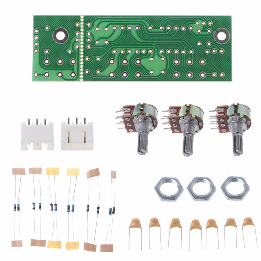 DIY No Electricity Power Amplifier With Passive Front Plate Front Board Sound Palette PCB Board Kit Integrated Circuits