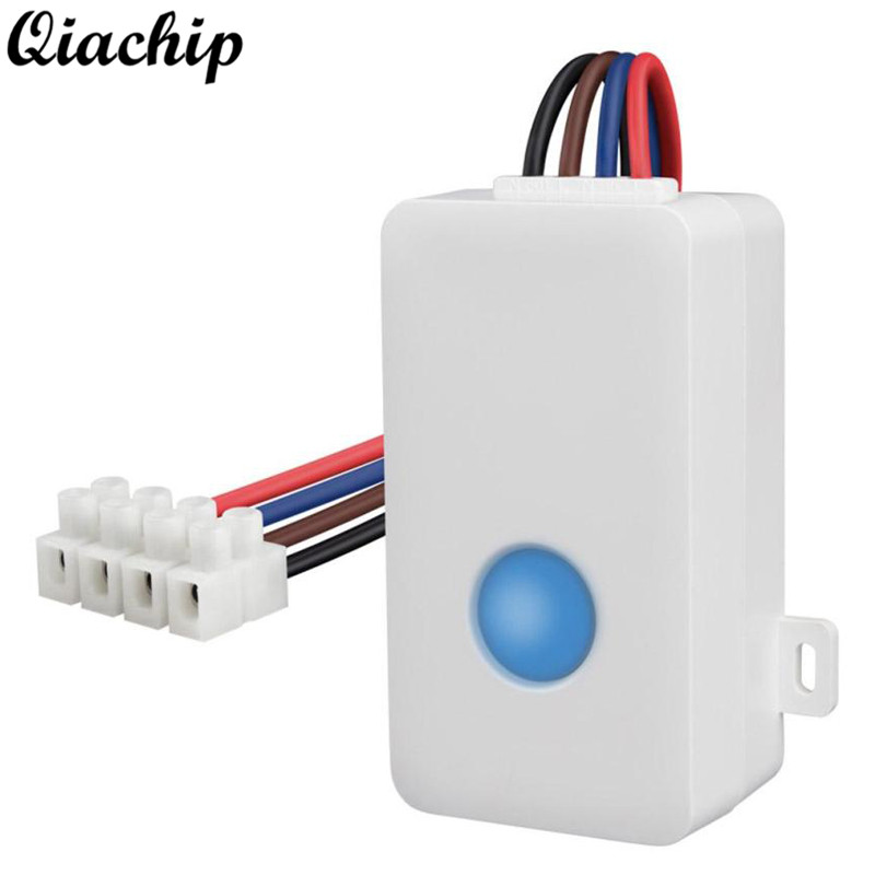 QIACHIP Smart Remote Switch Wifi Wireless Smart Timer Remote Control Controller Power Socket Plug For IOS Android Smart Home Diy qiachip e27 rf wifi 433mhz wireless smart light led lamp bulb holder smart home app timer for ios android remote control switch