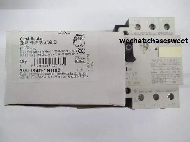 3VU1340-1NH00 new and original circuit breaker цена