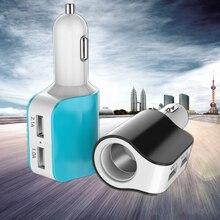 5 v 3.1a usb автомобильное зарядное устройство прикуривателя адаптер зарядки для iphone 6s samsung s6 универсальный портативный usb зарядные устройства(China (Mainland))
