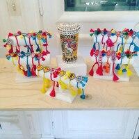 17 style 2017 Moda dzikie cukierki kolor seria essentials czysta ręcznie bracele bransoletka SHOUROUK kryształowe koraliki kobiet 359