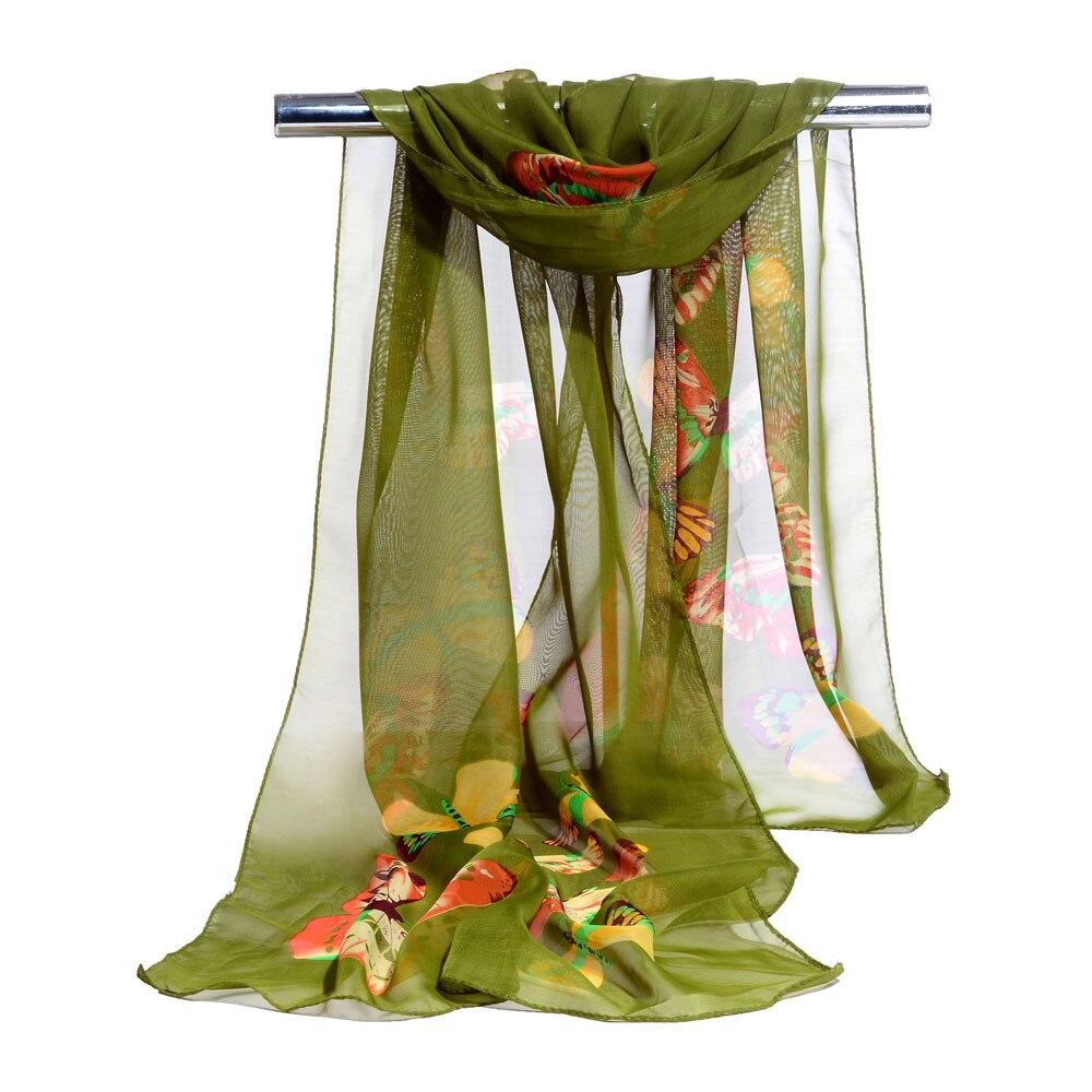 Female   scarf   Fashion Women Long Soft   Wrap     scarf   Ladies Shawl Chiffon   Scarves   New Spring New Designer Elegant Scarve