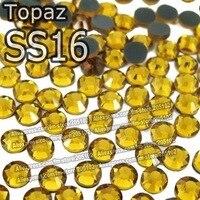 шоссе ss16 3.8-4.0 мм, 1440 шт./пакет оранжевый гигантский dmcfix пришивные звезды, горячая теплопередачи для DIY железа на одежде кристалл камни