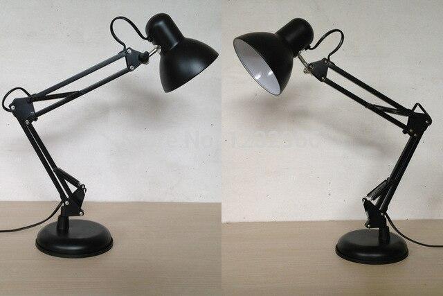 Lampe de bureau led clip pliage étude table de travail luminaire