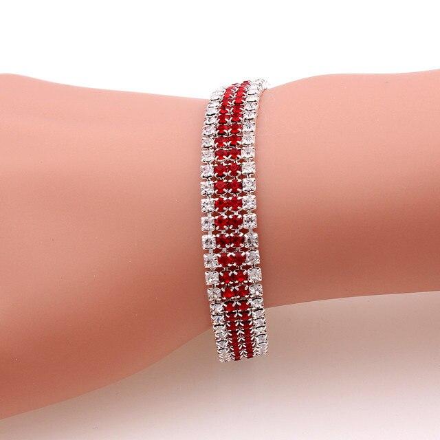 Red Bracelet Femme Women...