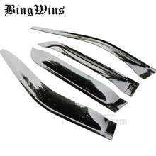 car styling Window Visors For Ford Explorer 2011-2016 Sun Rain Shield Stickers Covers Awnings Shelters