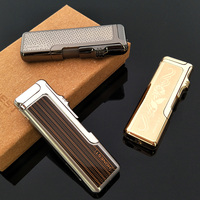 Honest 3 Kinds Of Windproof Jet Flame Torch Cigarette Cigar Butane Gas Refillable Lighter