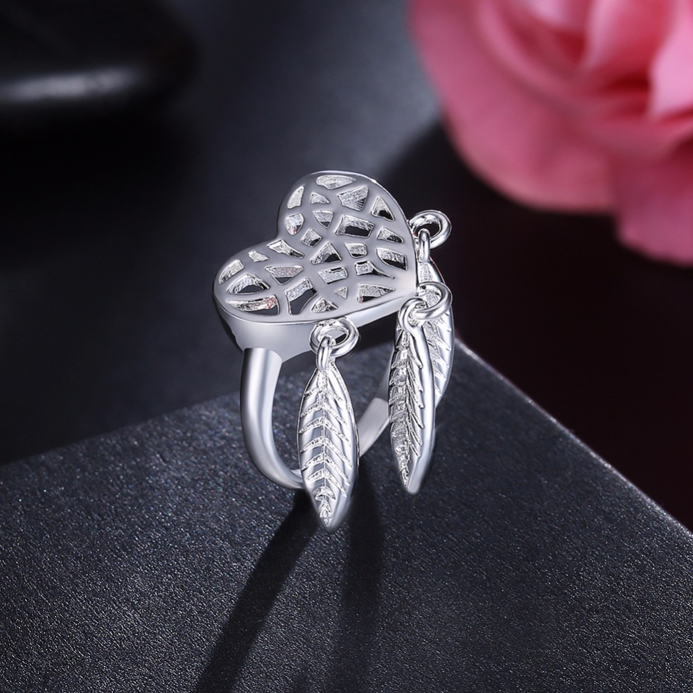 feather women jewelry dream pendant shop font dreamcatcher pc catcher lady b ring charm rings judelovesyou