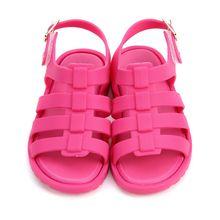 Mini Melissa Sandals Summer Kids Girls Boys Jelly Shoes Cartoon 5 Color For Infant Girl Beach