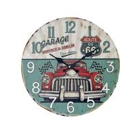 The ZKAKAkA Style Life Ring 35cm Wall Clock Modern Silent Large Mute Quartz Wall Clocks Household Living Room Antique Clcoks