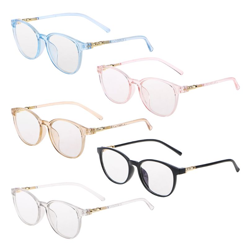 Trendy Clear Glasses Frame Unisex Optical Glasses Female Vintage Transparent Eyewear