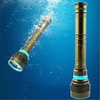 Diving Lamp 10000LM 7x XM L2 LED Scuba Diving Flashlight Lamp Torch Underwater 200mAPE