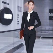New Formal Uniform Design Professional Business Suits Jackets And Pants Spring A