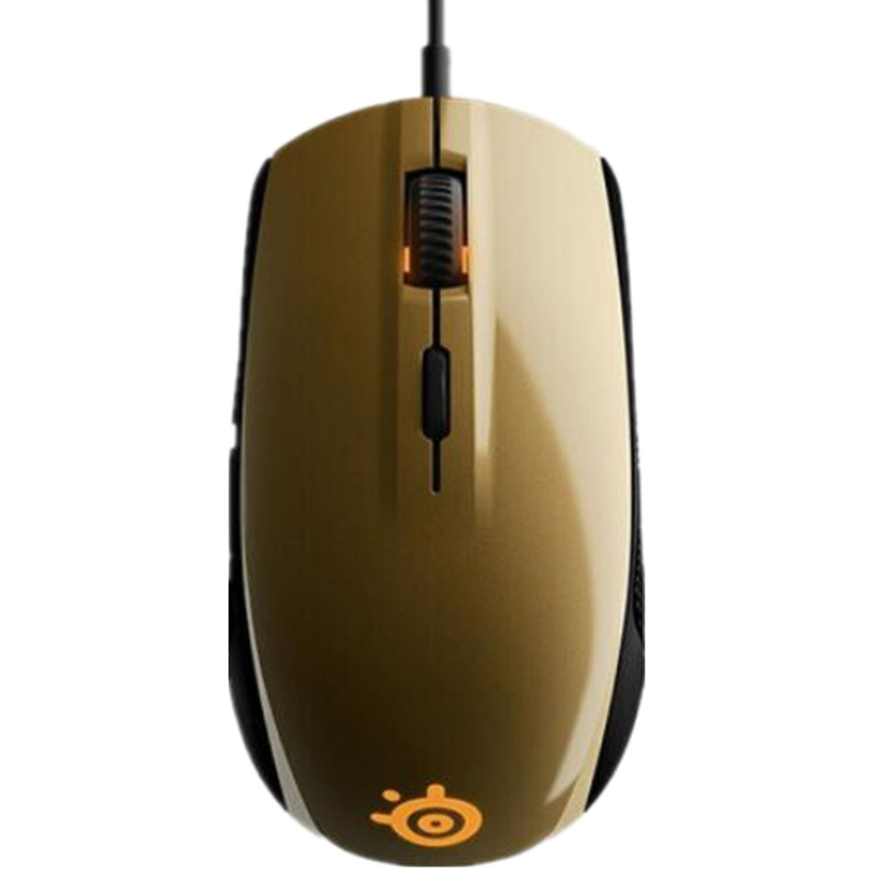 SteelSeries Rival 100 Gaming Mouse Mice USB Wired Optical Mice 4000DPI Mouse With Prism RGB Illumination Without Package