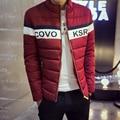 TG6147 Barato al por mayor 2016 nueva chaqueta de Algodón acolchado de invierno ropa de algodón acolchado capa húmeda masculinos adolescentes