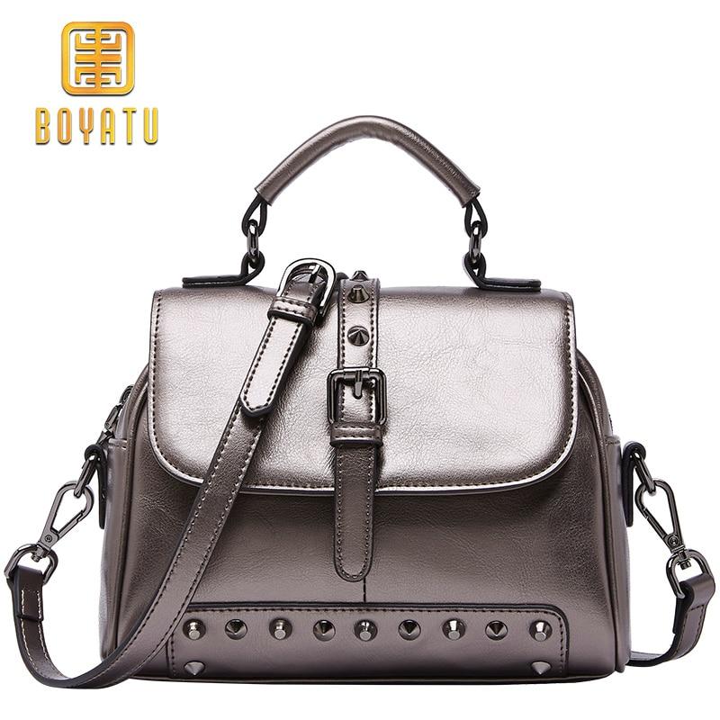 Lady Style Women Shoulder Bag Genuine Leather Women handbag Ladies Bag Vintage Women Messenger Bags Crossbody Bag Bolsa Feminina цена 2017