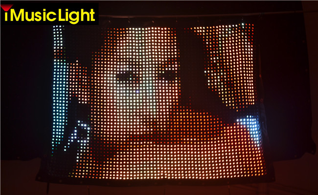 P30mm 4ft*7ft Soft Led Video Flexible Display Screen Led Curtains For DJ  Stage Backdrops In Stage Lighting Effect From Lights U0026 Lighting On  Aliexpress.com ...