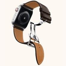 цена Newest Chocolate Color Watch Band For Apple Watch 4 40mm 44mm Single Tour Strap For iWatch Series 3 2 1 Belt Straps Watchbands онлайн в 2017 году