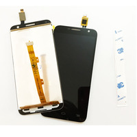 4 5 Black White LCD Display With Touch Panel For Alcatel One Touch Idol 2 Mini