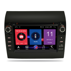 Image 2 - Android 9.1 Car Stereo For Fiat Ducato CITROEN Jumper PEUGEOT Boxer DVD Player GPS Navi Autoradio Video 2 Din Stereo Multimedia