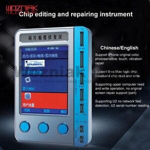 U2 número de série leitura rápida para iphone 7 8 p x s max xr cor original fotossensível vibração reparação lcd toque programação Conj. ferramentas elétricas    -