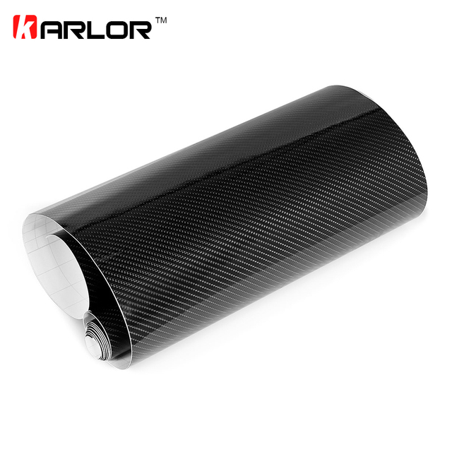 100cm*30cm High Glossy 5D Carbon Fiber Wrapping Vinyl Film Motorcycle Tablet Stickers And Decals Auto Accessories Car Styling 5