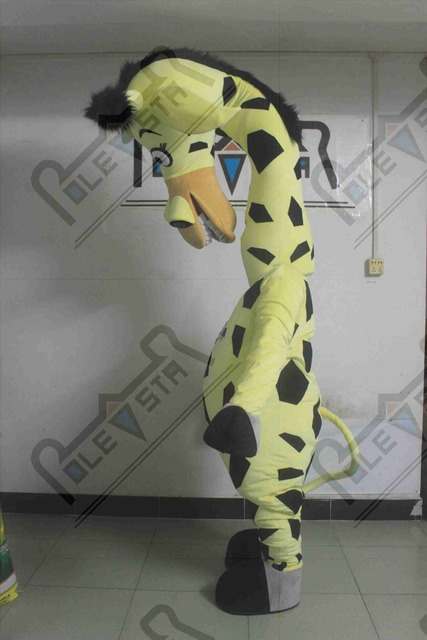funny giraffe mascot costumes hot sale cartoon giraffe costumes tall animal walking actor & funny giraffe mascot costumes hot sale cartoon giraffe costumes tall ...
