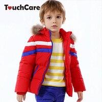 Winter Newborn Warm Duck Down Soft Baby Boys Girls Coat Jacket Hooded Long Sleeve Children Parkas