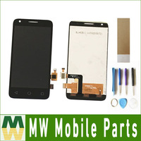 Black Color 1PC Lot LCD Display Touch Screen Assembly For Alcatel One Touch Pixi 3 4027