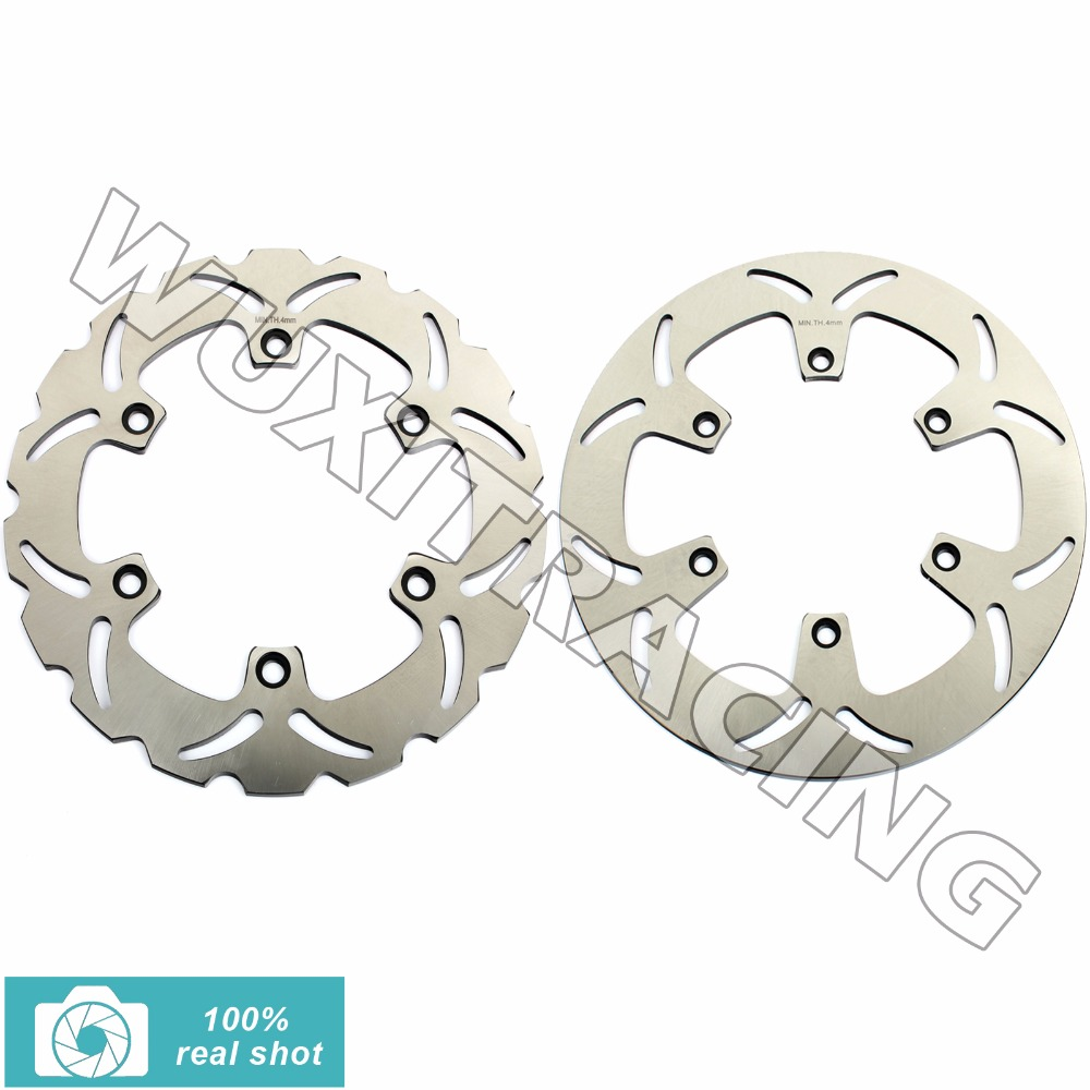 New Motor Full Set Front Rear Brake Discs Rotors for Honda VT1100 VT 1100 Shadow ACE 95 96 97 98 1995 1996 1997 1998 318mm+276mm mfs motor motorcycle part front rear brake discs rotor for yamaha yzf r6 2003 2004 2005 yzfr6 03 04 05 gold