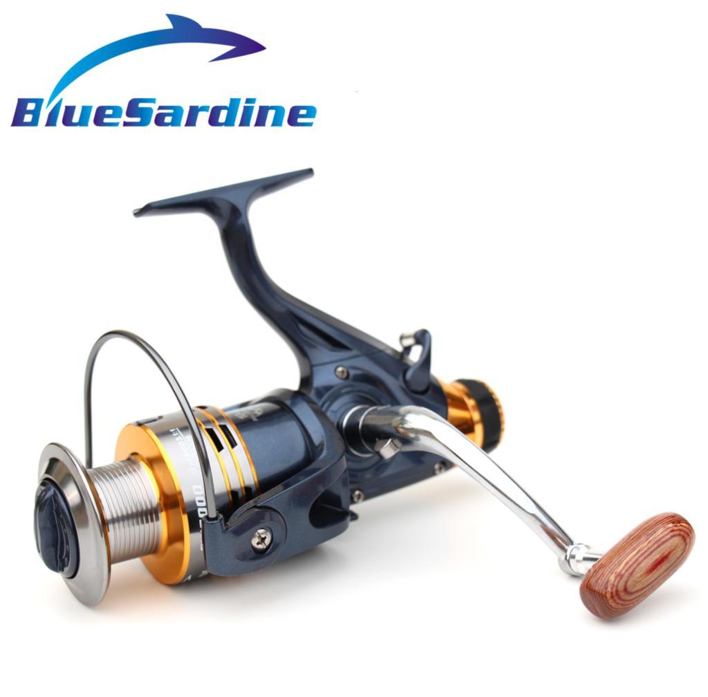BlueSardine 10 + 1BB 5.1: 1 Velký kovový rybářský naviják Spinning Coil Wheel Rybářské potřeby Saltwater 5000 6000